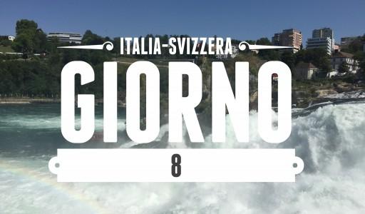 ITALIA-SVIZZERA: GIORNO 08 – Cascate del Reno, Sciaffusa, Stein am Rhein