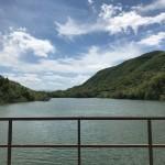 Ponte sul lago del Turano