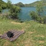 Lago del Turano, un telo e via si sosta