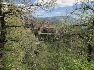 Marcetelli: veduta da P.zza San Rocco